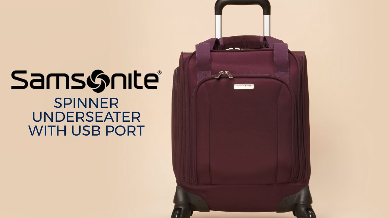 123f4d9ca924f Beat Carry-On Fees with the Samsonite Underseater - YouTube