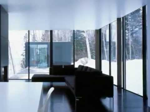 weekend glass house modern house create extreem climate. Black Bedroom Furniture Sets. Home Design Ideas