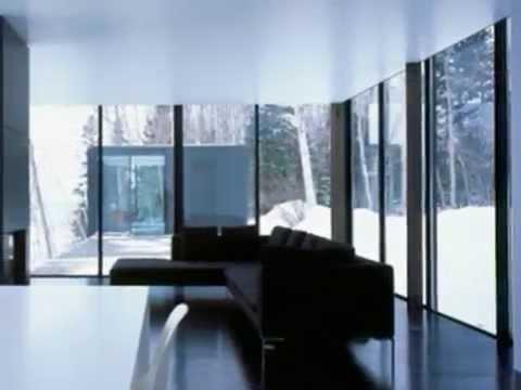 WEEKEND GLASS HOUSE MODERN HOUSE CREATE EXTREEM CLIMATE