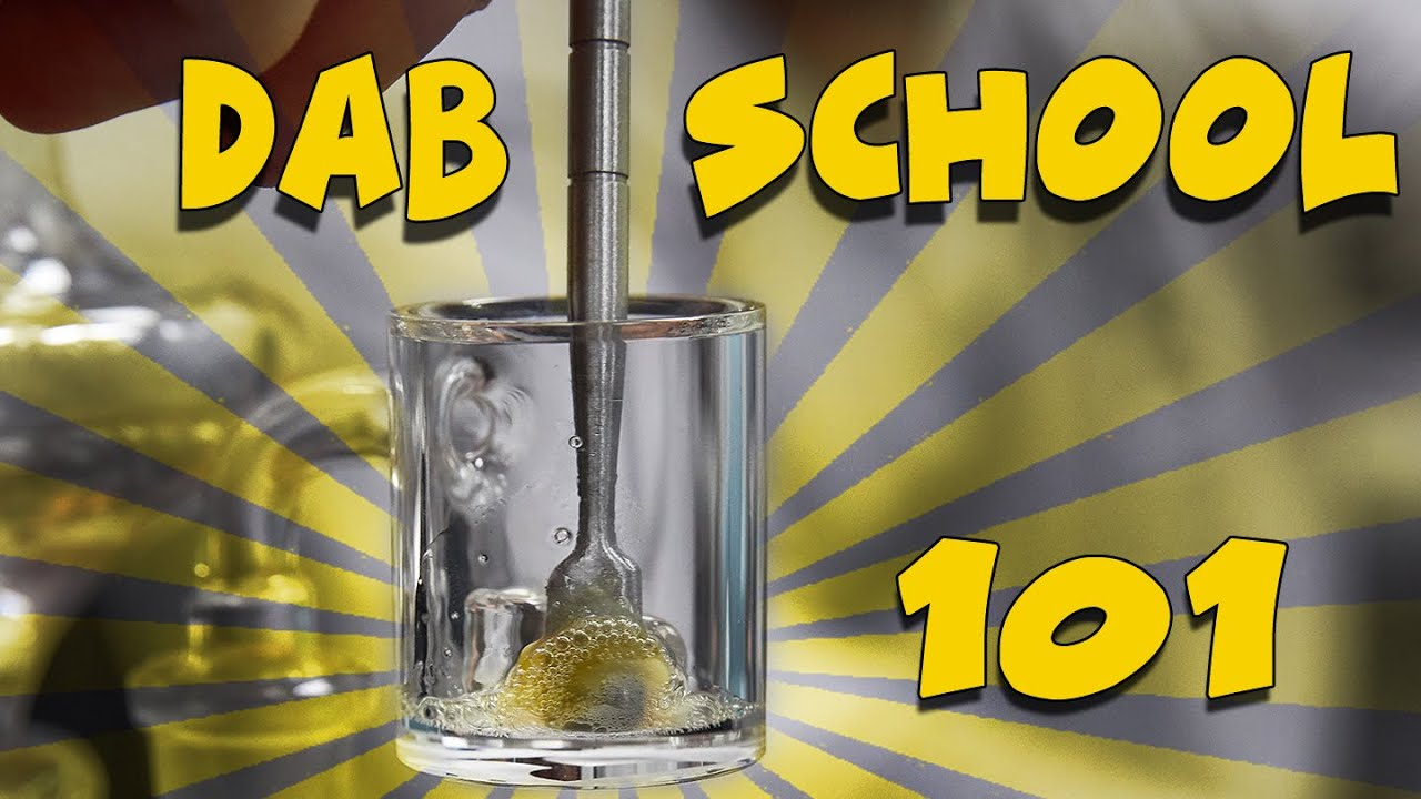 DAB SCHOOL - 101 The Basics - How To Dab Cannabis Extracts - 21+