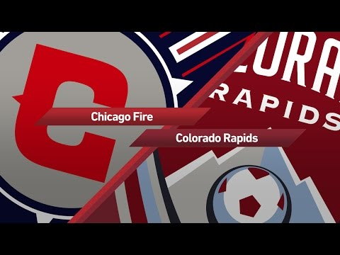 Highlights: Chicago Fire vs. Colorado Rapids | May 17, 2017