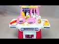 Disney Princess Frozen Cooking Kitchen Playset Toy Food and Baby Cooking Toys Videos for Kids