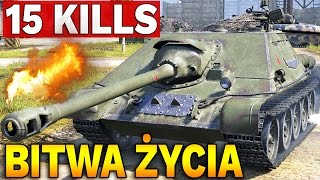15 FRAGÓW NA SU-122-44 !!! - World of Tanks