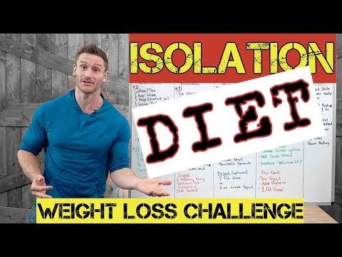 ISOLATION Weight Loss Challenge (Full Meal & Workout Plan)