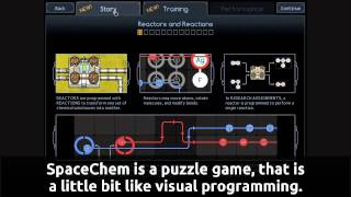 Games for Linux: SpaceChem