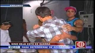 Gino Pesaressi deja Esto Es Guerra por el roche del accidente de transito - 22/04/2013