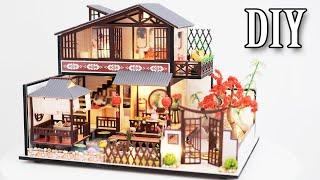 DIY Miniature Dollhouse Kit || Japanese Style House - Miniature Land