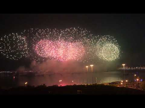 Amazing record making fireworks Qatar National Day 2017