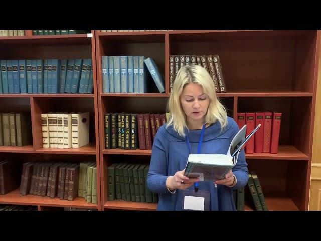Светлана Смирнова читает произведение «Холодная весна» (Бунин Иван Алексеевич)