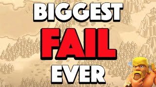 Clash of Clans - BIGGEST CLAN WAR FAIL EVER! Back to Back Failed Raids