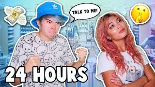 IGNORING MY BOYFRIEND FOR 24 HOURS! *he FREAKED out* | Our Fire