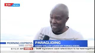 Paragliding association of Kenya plans to open a training camp in the country
