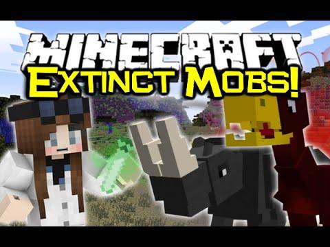 Minecraft BRING EXTINCT MOBS BACK TO LIFE! - Bygone Age Mod Spotlight