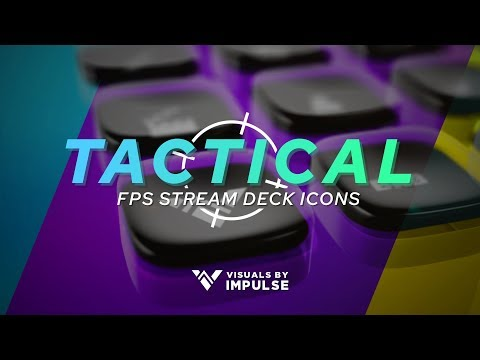 Tactical Stream Deck Icons