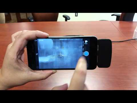 FLIR ONE for iOS Thermal Imaging Camera Demo Video