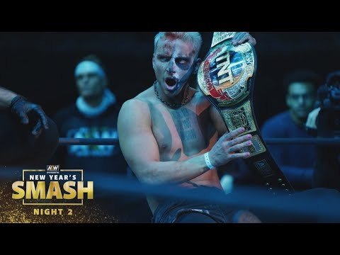 Is Cage the New TNT Champion or Did Darby Allin Prevail?   AEW New Year's Smash Night 2, 1/13/21