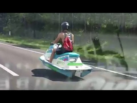 Meet the man behind the 'jet ski' scooter