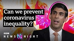 Why coronavirus is not 'the great leveller' - BBC Newsnight
