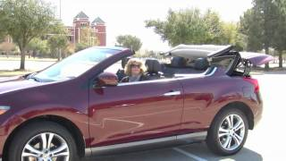 2011 Nissan Murano Cross Cabriolet Test Drive | TravelingMamas.com