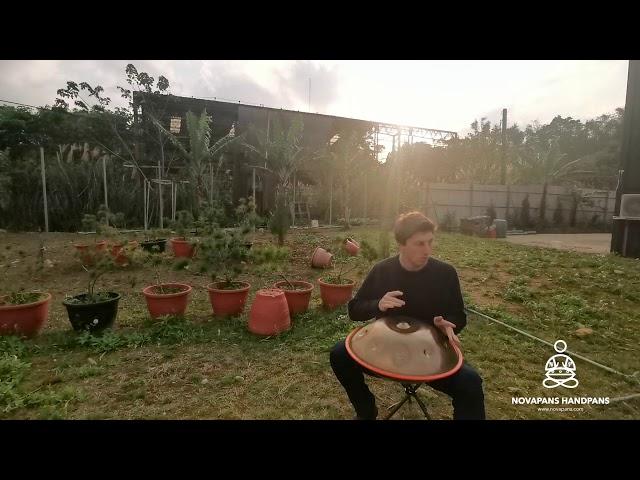 9 Note Handpan in D Celtic Minor - Demonstration Model Jam | Generation 7 | NovaPans Handpans