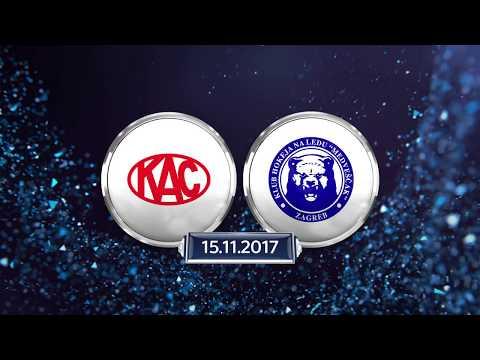Erste Bank Eishockey Liga 17/18. 20. Runde: EC-KAC - KHL Medvescak Zagreb 4:1