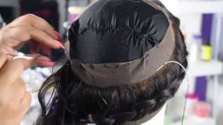how to make a 360 frontal wig using one bundle hot beauty hair