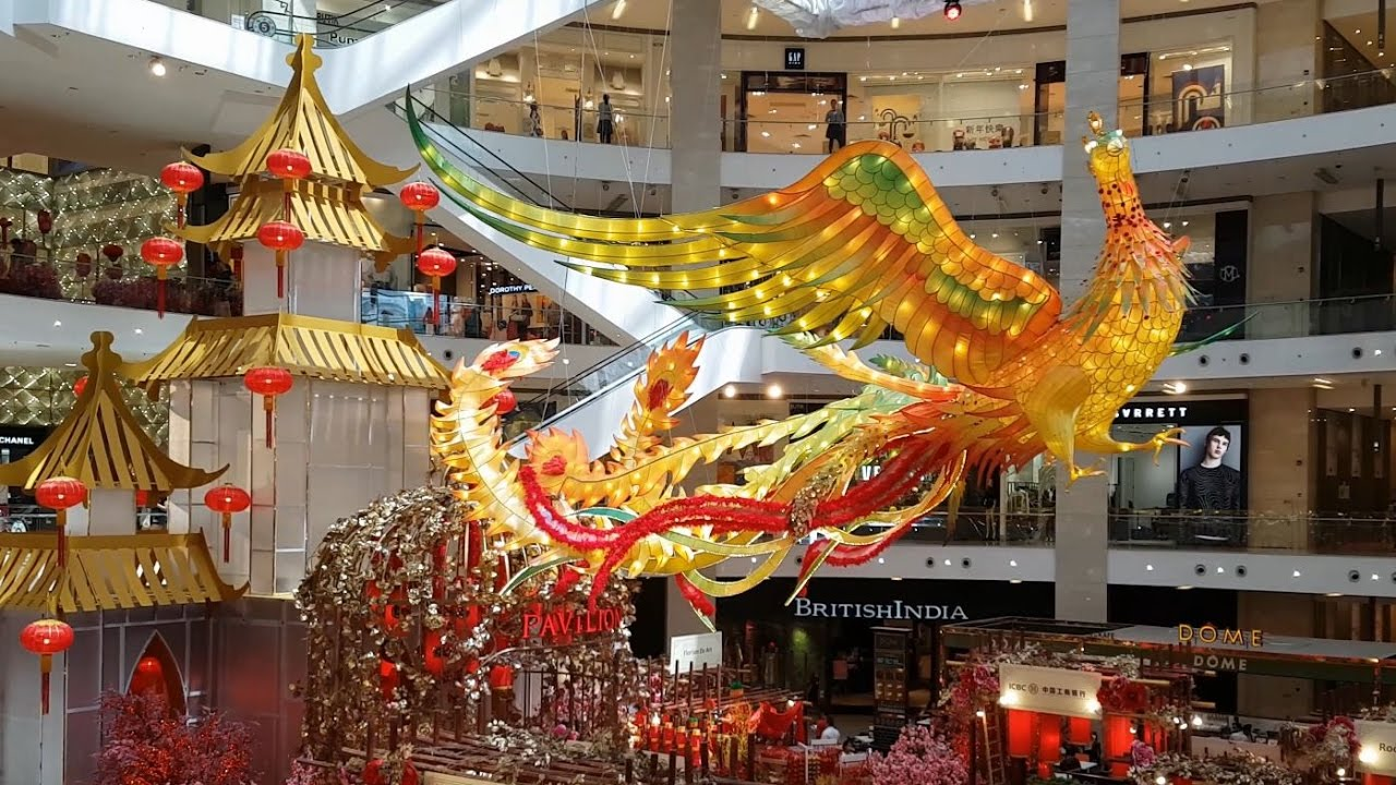 Cny2017 chinese new year decoration pavilion kuala for Decoration 2018