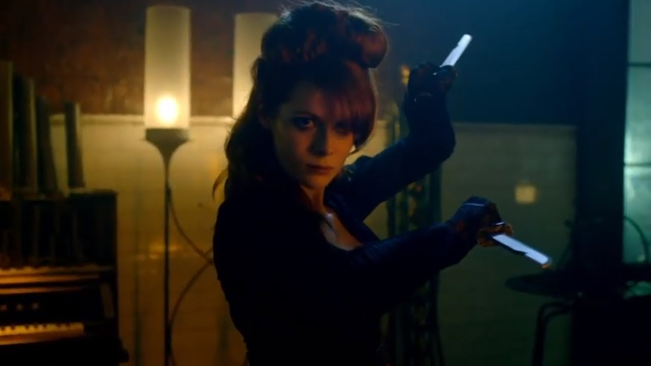 Download The Widow bar fight   Into the badlands