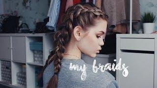 Как заплести французскую косу (фото и видео)
