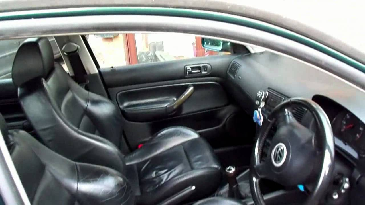 1999 vw golf gti turbo for sale youtube for Lederen interieur golf 4