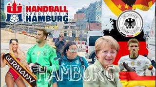 Germany Hamburg Deutschland World Cup Waking Tour Alemania Mundial Futbol Fußball 4K