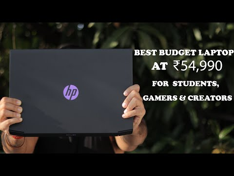 Best Budget Gaming Laptop : HP Pavilion Gaming 15-ec0101AX