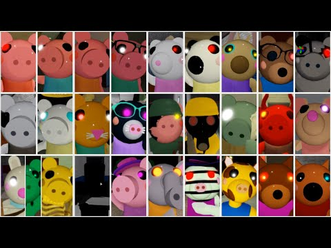 Roblox Piggy All Jumpscares Video Game Clips Compilation