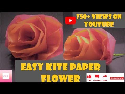 Kite paper flower || flowers