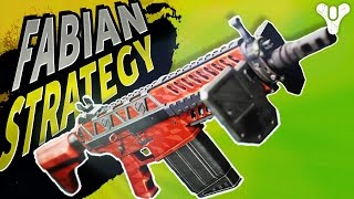 Underrated Powerhouse! Fabian Strategy Exotic Auto Rifle   Destiny (Rise of Iron/Dawning)