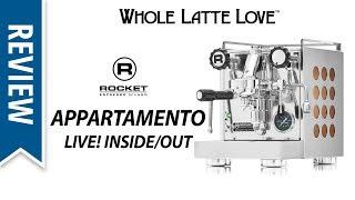 Review: Rocket Espresso Appartamento Machine Live thumbnail