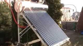 Kolektor słoneczny bezciśnieniowy cz 1