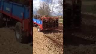 obornik 2016 zetor 5011 & mengele rozrzutnik