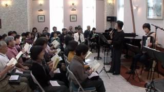 2010/10/17 第83回あづみ野うたごえ喫茶 ロシア民謡(山のロザリア作詞...