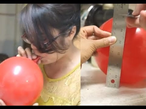 How to Measure Vital Capacity Using a Balloon