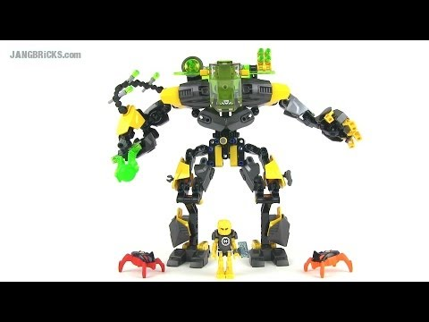 LEGO Hero Factory 44022 EVO XL Machine (Invasion from Below) set review!