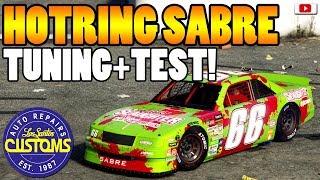🚘🛠Vice City Nascar Auto! HOTRING SABRE Tuning + Test!🚘🛠 [GTA 5 Online Super Sport Series Update DLC]