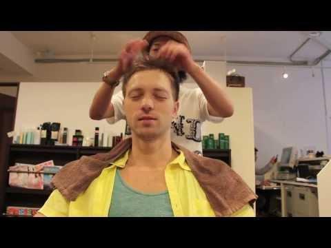 Стрижка волос в Японии