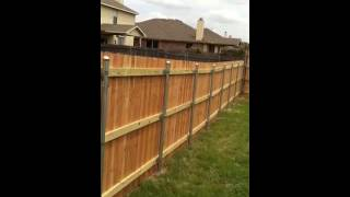 6ft Cedar Privacy Fence(back) Keller,tx