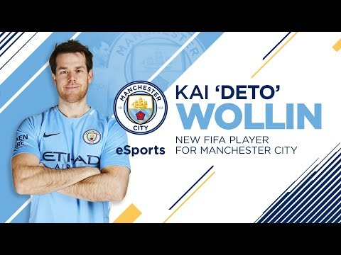 KAI 'DETO' WOLLIN SIGNS FOR MANCHESTER CITY ESPORTS! | World Champion FIFA player joins City!