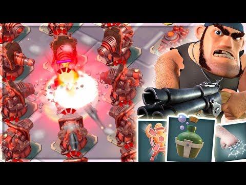 NEW Boom Beach Hero Gameplay! Maxed Pvt. Bullit Gameplay! (Sneak Peek Update!)