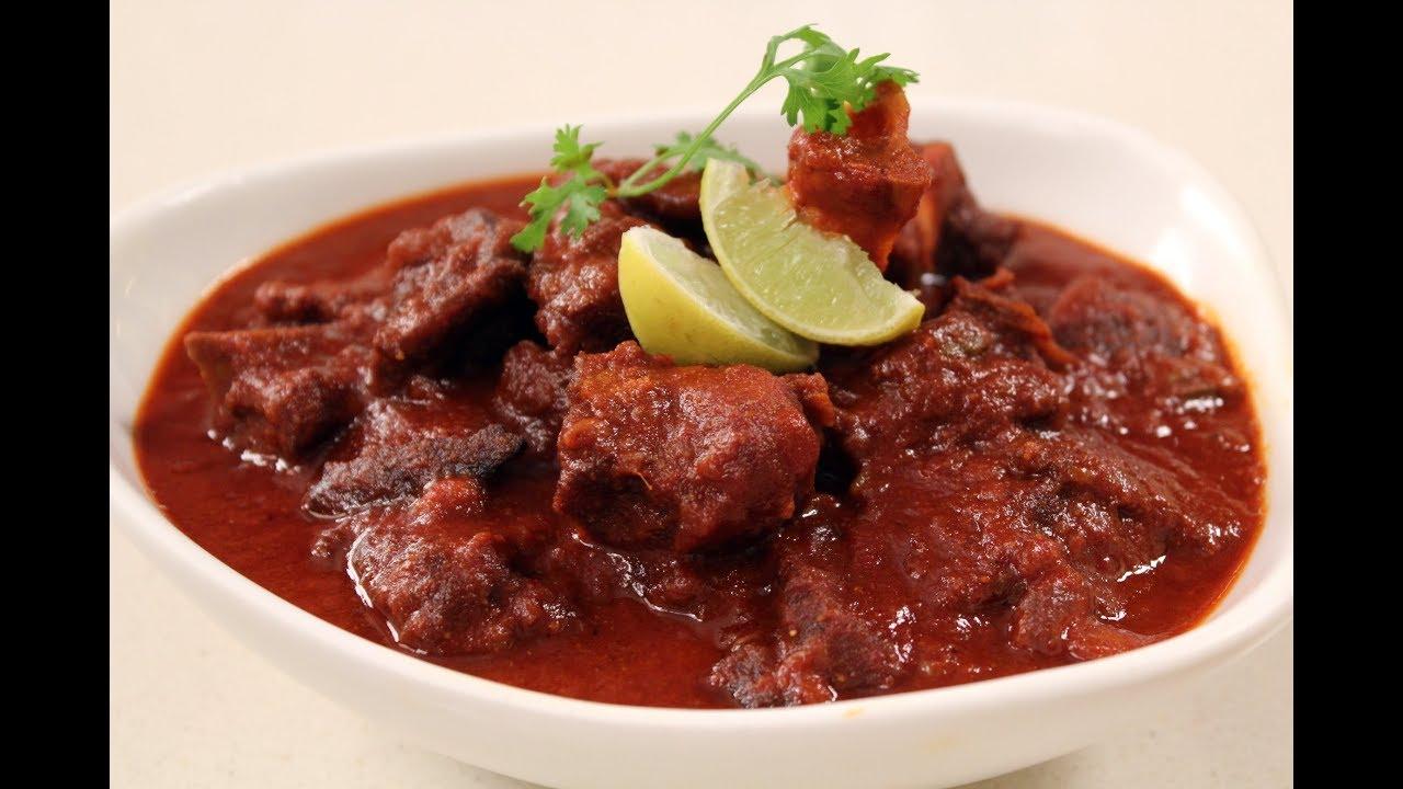 Laal maas rajasthani cuisine sanjeev kapoor khazana youtube forumfinder Image collections