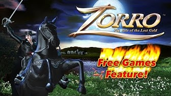 Zorro The Tale of the Lost Gold -  Free Games Feature