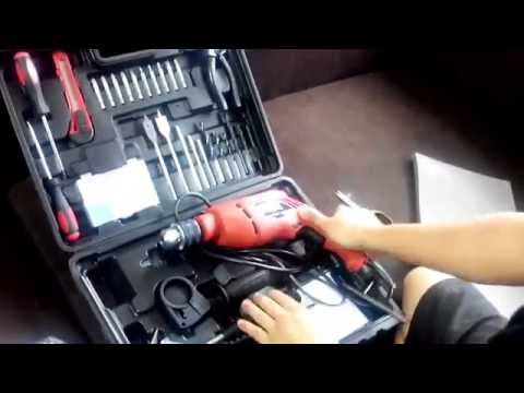 Skil 6513 550 watts 13 mm  Impact/Hammer Drill Machine complete kit unboxing Review