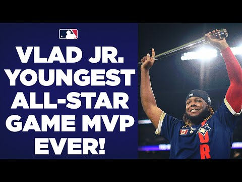 Vlad Guerrero Jr. becomes YOUNGEST PLAYER EVER to win All-St